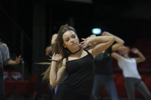 """""""Lietuvos ryto"""" šokėja siekianti tapti M. Šalčiūtė: tai didelis iššūkis"""