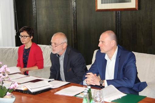 Aptarti Druskininkų savivaldybės ligoninės veiklos rezultatai ir jų tobulinimo galimybės