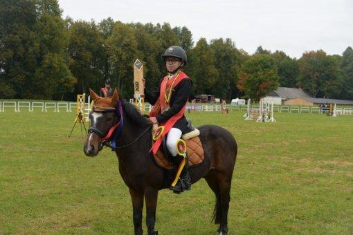 Įvyko Atviras Lietuvos konkūrų Poni klasės žirgų ir vaikų čempionatas