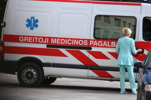 Didesni atlyginimai – ir greitosios pagalbos medikams
