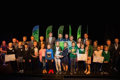 Apdovanoti Lietuvos mokyklų žaidynių geriausieji, atidarytas naujas sezonas (FOTO)