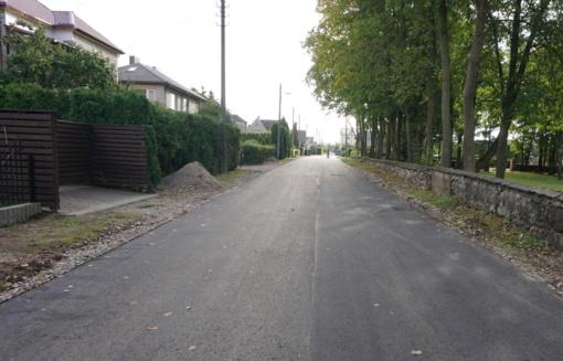 Kretingoje spartėja gatvių atnaujinimo darbai
