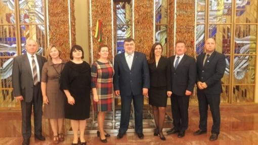 Lazdijų rajono delegacija dalyvavo šimtmečio konferencijoje Seime