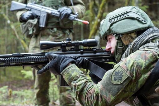 Krašto apsaugos savanoriai kartu su Portugalijos kariais treniruosis Šiaulių ir Telšių regionuose