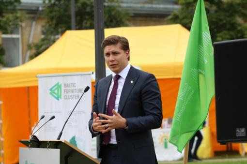 Ūkio ministras M. Sinkevičius nekeičia pozicijos dėl atsistatydinimo