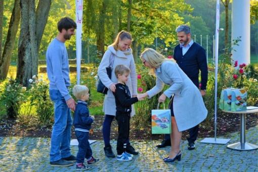 """Tarptautinę turizmo dieną apdovanoti renginio """"Judėk Jurbarke"""" dalyviai"""