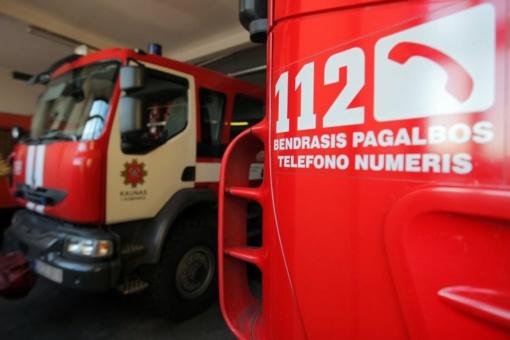 Klaipėdos uoste nukritęs nuo pastolių susižalojo vyras