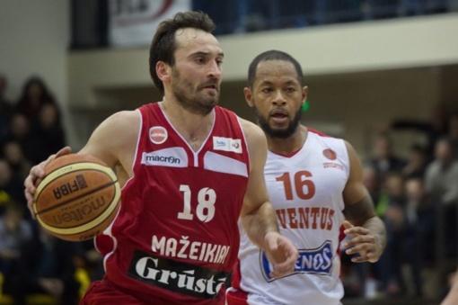 Krepšininkas G. Maceina grįžta į Prienus