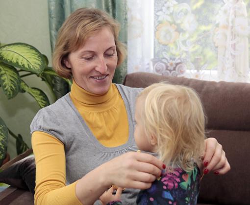 Moteris svajojo padėti kitų vaikams ir svajonė išsipildė