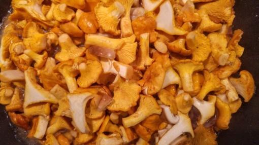 Jaukiam rudens vakarui - skanioji voveraičių sriuba