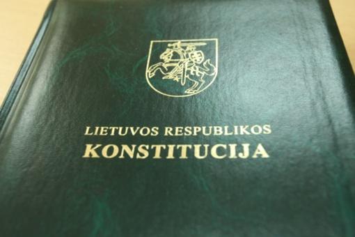 Lietuvos Konstitucijai 25-eri: pasitikrinti jos išmanymą kviečia Konstitucijos egzaminas