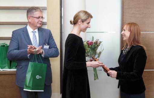 Apdovanota mokytoja – Meilės Lukšienės premijos laureatė