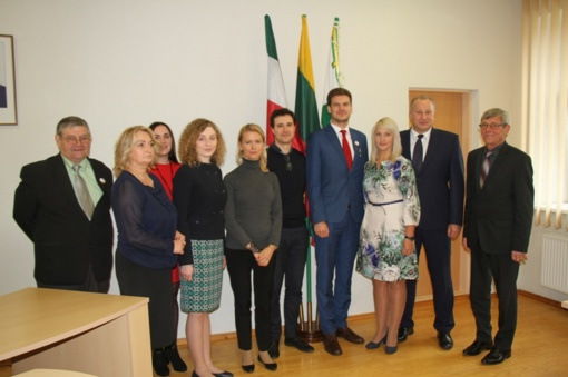 Susitikime su Socialinės apsaugos ir darbo viceministru aptarti jaunimo politikos klausimai