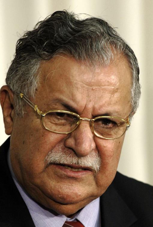 Mirė buvęs Irako prezidentas ir kurdų lyderis Talabani