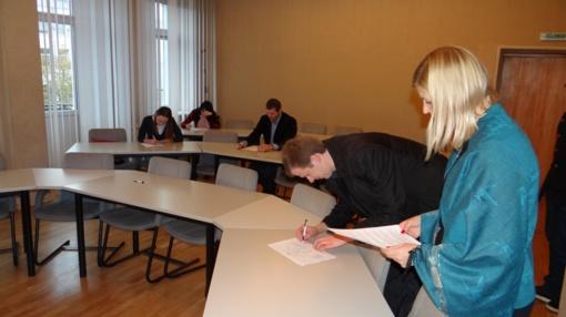Panevėžiečiai laikė Konstitucijos egzaminą