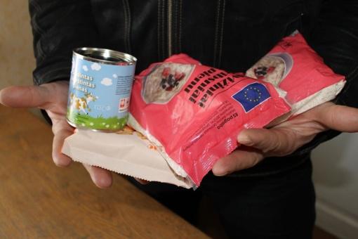 Spalio 17 - 18 d. Širvintų seniūnijoje bus dalinami maisto paketai