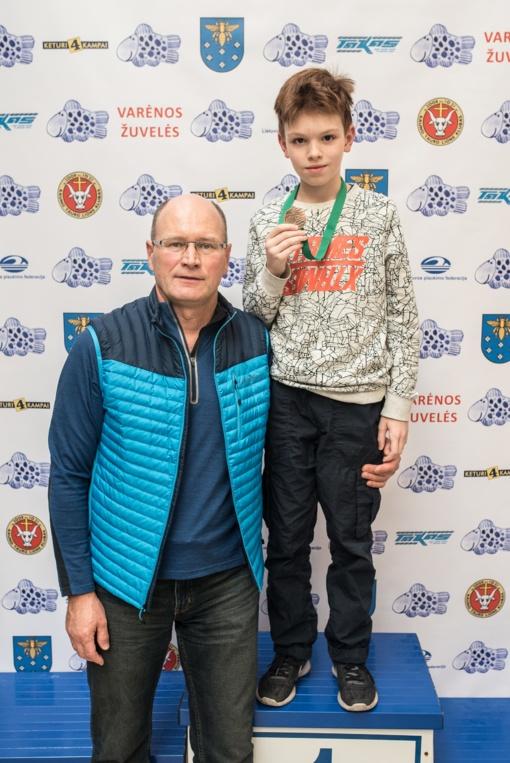 Iš Varėnos - bronzos medalis