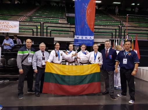 Uteniškiai iš pasaulio čempionato grįžo su medaliais