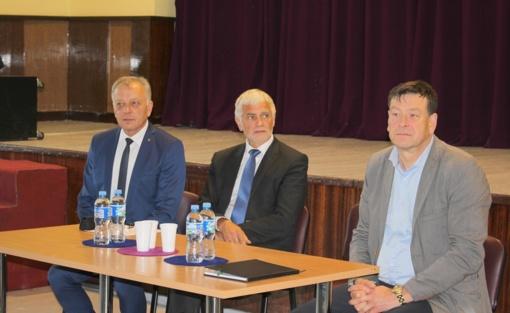 Žemės ūkio ministras susitiko su Telšių rajono ūkininkais