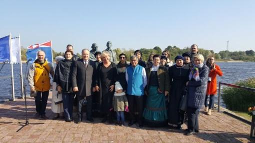Rusnės saloje paminėta M. Gandhi gimimo diena