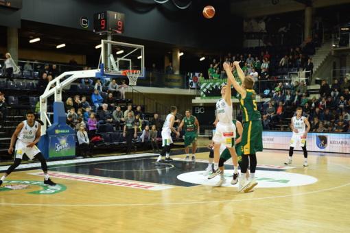 """""""Nevėžio"""" krepšininkai pergale pradėjo antrąjį FIBA Europos taurės atrankos etapą"""