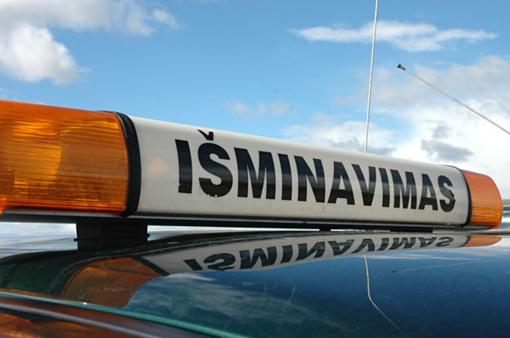 Vilniuje rastas dar vienas sprogmuo