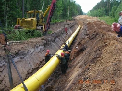 """""""Kauno dujotiekio statybai"""" siekiama iškelti bankroto bylą"""