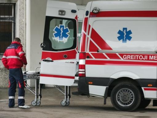 Vilniuje susidūrė lengvieji automobiliai, yra nukentėjusiųjų