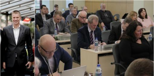 Šiaulių miesto taryboje atsilaisvino viena kėdė - traukiasi Mindaugas Žukauskas