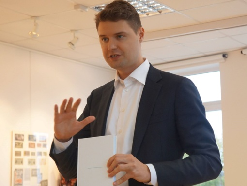 Pasvalio Mariaus Katiliškio viešojoje bibliotekoje lankėsi Seimo narys Mykolas Majauskas