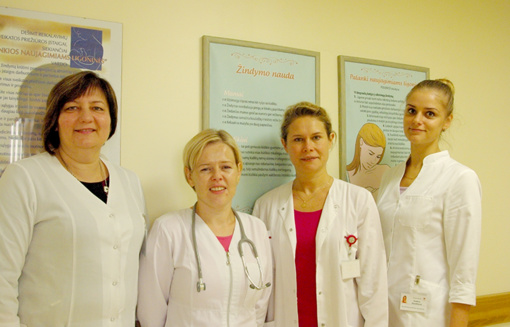 Utenos ligoninė džiaugiasi Naujagimiui palankios ligoninės statusu