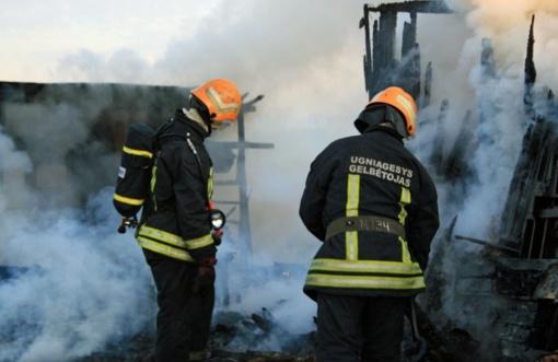 Kretingos rajone dega pirtis