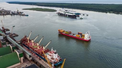 Antradienį iš Klaipėdos bus išsiųstas pirmasis antžeminis SGD krovinys