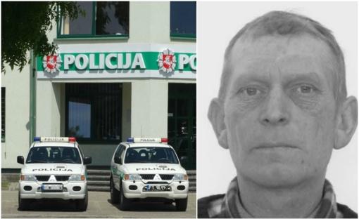 Alytaus policija ieško iš namų išėjusio Sauliaus Antano Daukšio