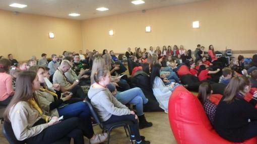 Plungės kultūros centre – Žemaitijos regiono jaunimo organizacijų susitikimas