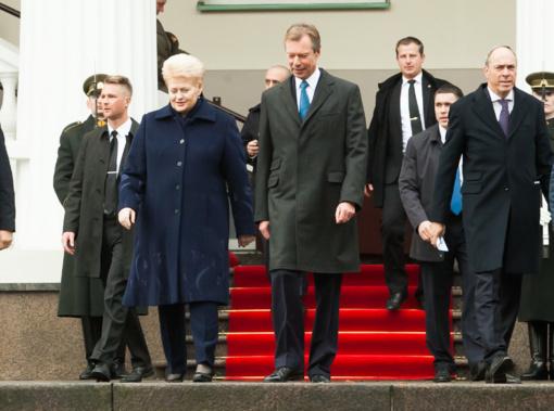 Lietuvos ir Liuksemburgo vadovai atidarė verslo forumą