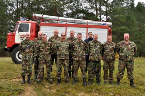 Varėnoje tikrintas ugniagesių gelbėtojų pasirengimas