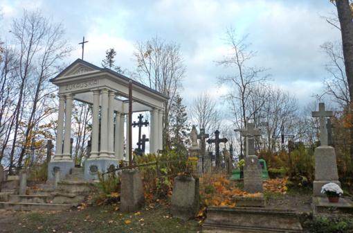 Senosiose miesto kapinėse– ir gyvųjų paslaptys
