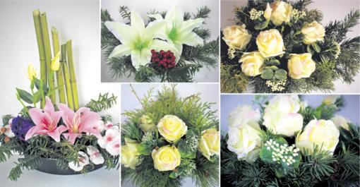 Kuriame patys: gėlių kompozicijos artimųjų kapams
