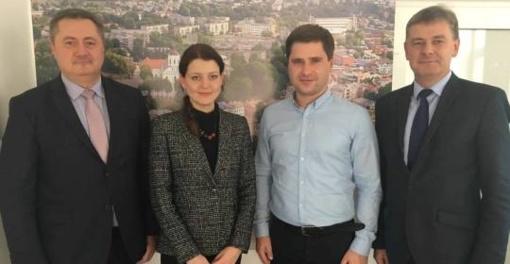 Savivaldybėje lankėsi LR seimo narė Monika Navickienė
