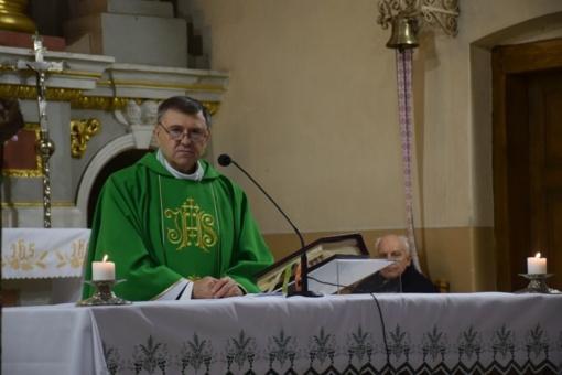 Meras pasveikino kunigą Tadeus Vallian 60-ojo jubiliejaus proga
