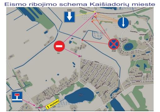 Lapkričio 1 d. prie Kaišiadorių civilinių kapinių bus ribojamas eismas