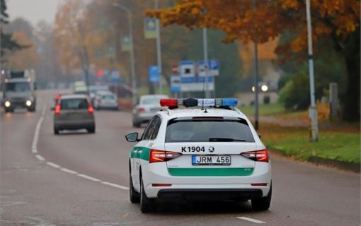 Kelių policija: kokie reidai laukia lapkritį?