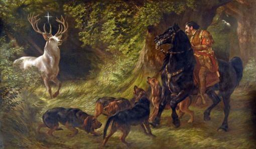 Lapkričio 3-ioji – Šv. Hubertas,  Medžiotojų diena