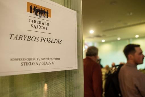 Liberalai naują partijos pirmininką rinks gruodžio 9 d.