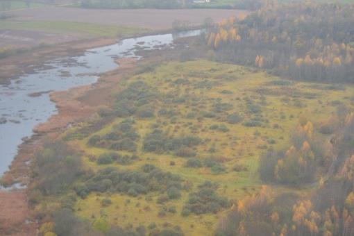Aplinkosaugininkai pažeidimų ieško iš sraigtasparnio