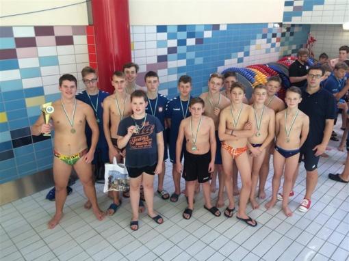 ASRC vandensvydininkai dalyvavo tarptautiniame turnyre Vokietijoje