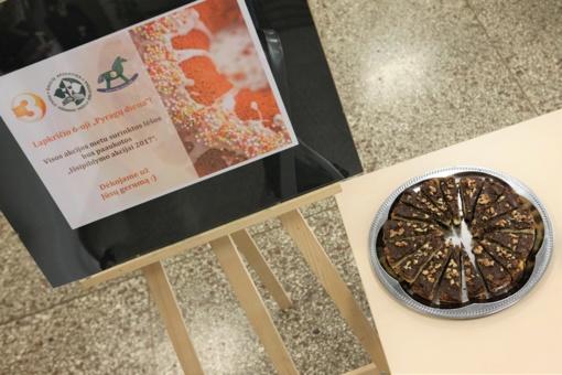 Pyragų diena Povilo Višinskio bibliotekoje