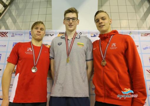 Lietuvos plaukikai sprinto festivalyje Latvijoje iškovojo devynis medalius