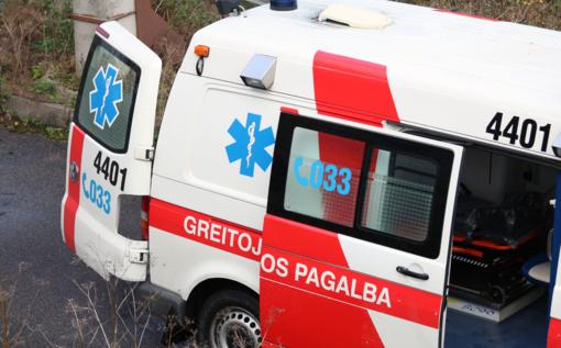"Avarija Kupiškio rajone: susidūrė ""Skoda Rapid"" ir ""VW Passat"" automobiliai"
